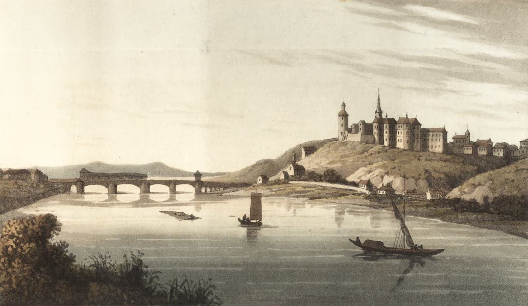 Travels Through Some Parts of Germany, Moldavia and Turkey - Meissen from the West (1818)