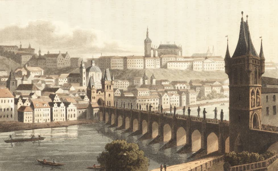 Travels Through Some Parts of Germany, Moldavia and Turkey - The City of Prague (1818)
