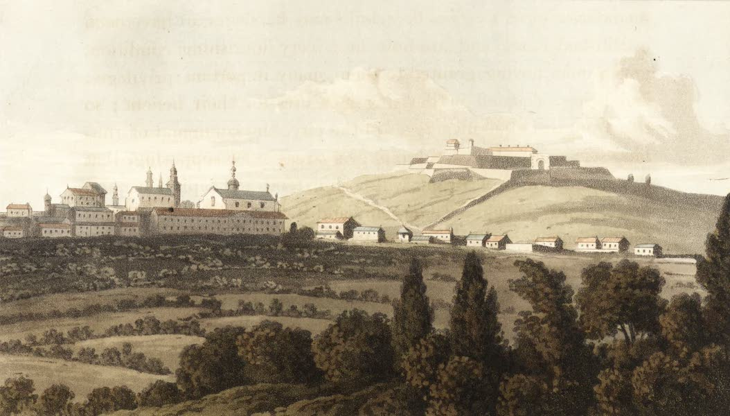 Travels Through Some Parts of Germany, Moldavia and Turkey - City of Brunn and Fortress of Spielberg, Moravia (1818)