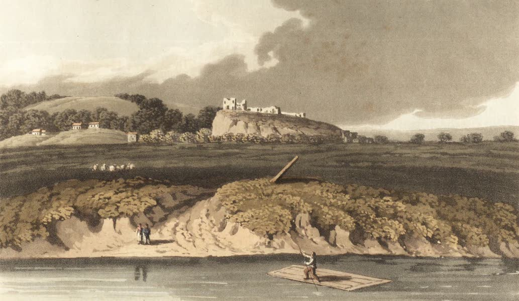 Travels Through Some Parts of Germany, Moldavia and Turkey - River Dniester and Ruins of Halietz (1818)