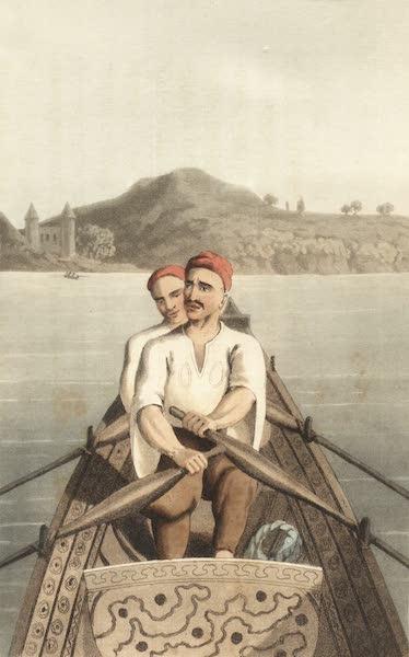 Travels Through Some Parts of Germany, Moldavia and Turkey - Turkish Boatmen (1818)