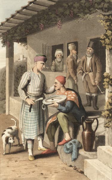 Travels Through Some Parts of Germany, Moldavia and Turkey - Greek Barber (1818)