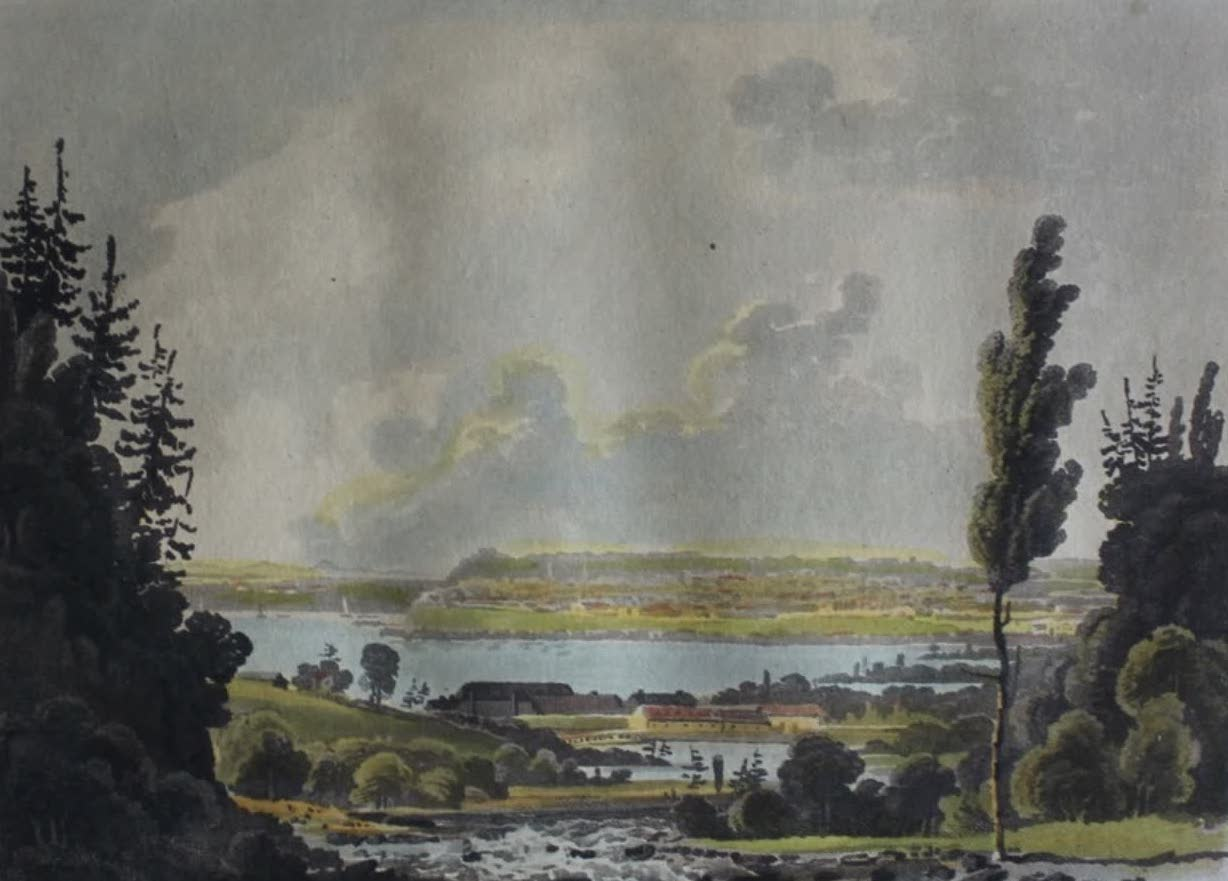 Travels Through the Canadas - Quebec from Beauport (1807)