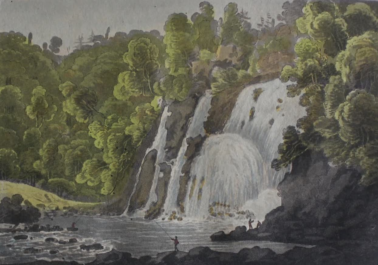 Travels Through the Canadas - Fall of La Puce (1807)