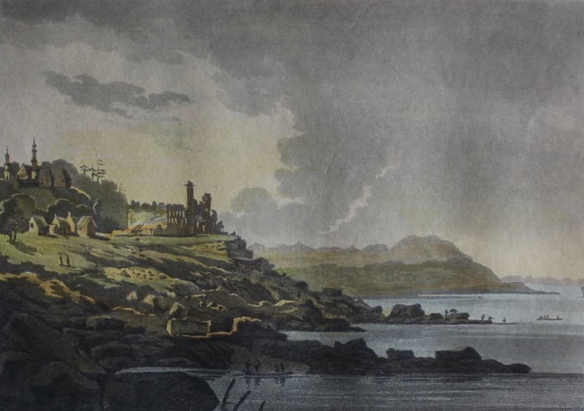 Travels Through the Canadas - Ruins of Chateau Richer (1807)