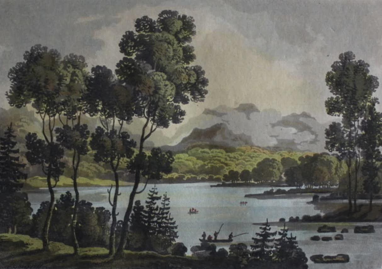 Travels Through the Canadas - Lake St. Charles (1807)