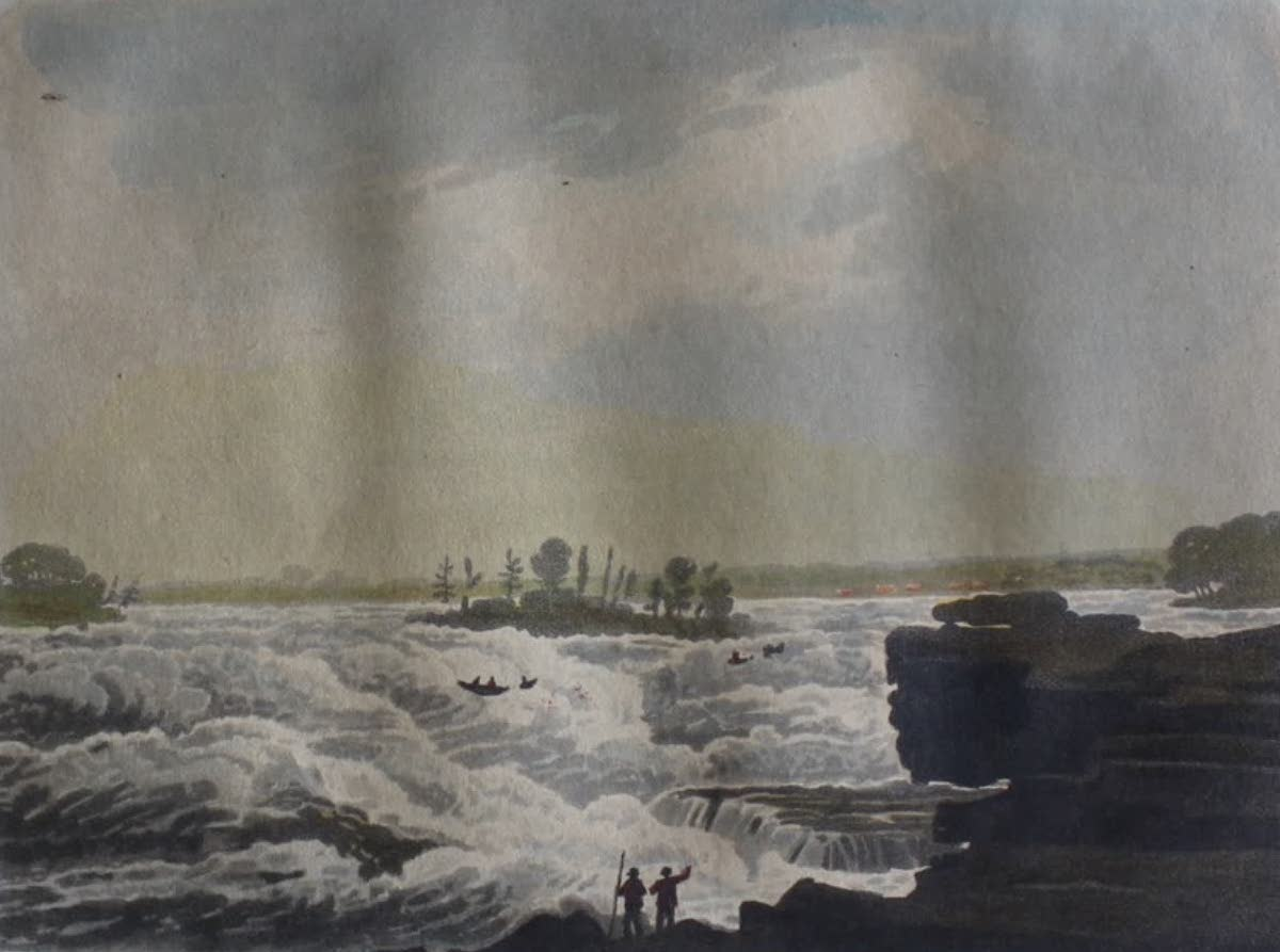 Travels Through the Canadas - Cascades of the Saint Lawrence (1807)