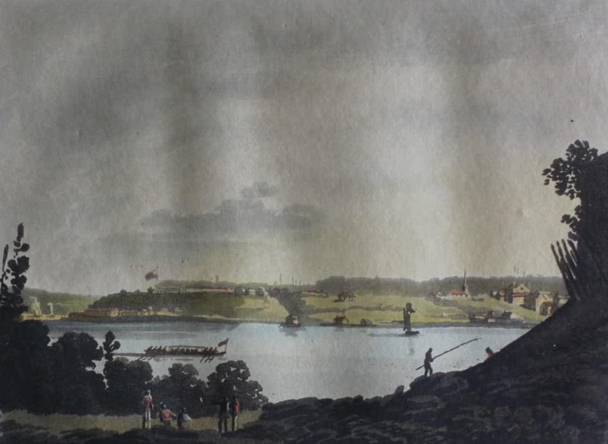 Travels Through the Canadas - Fort of Niagara (1807)