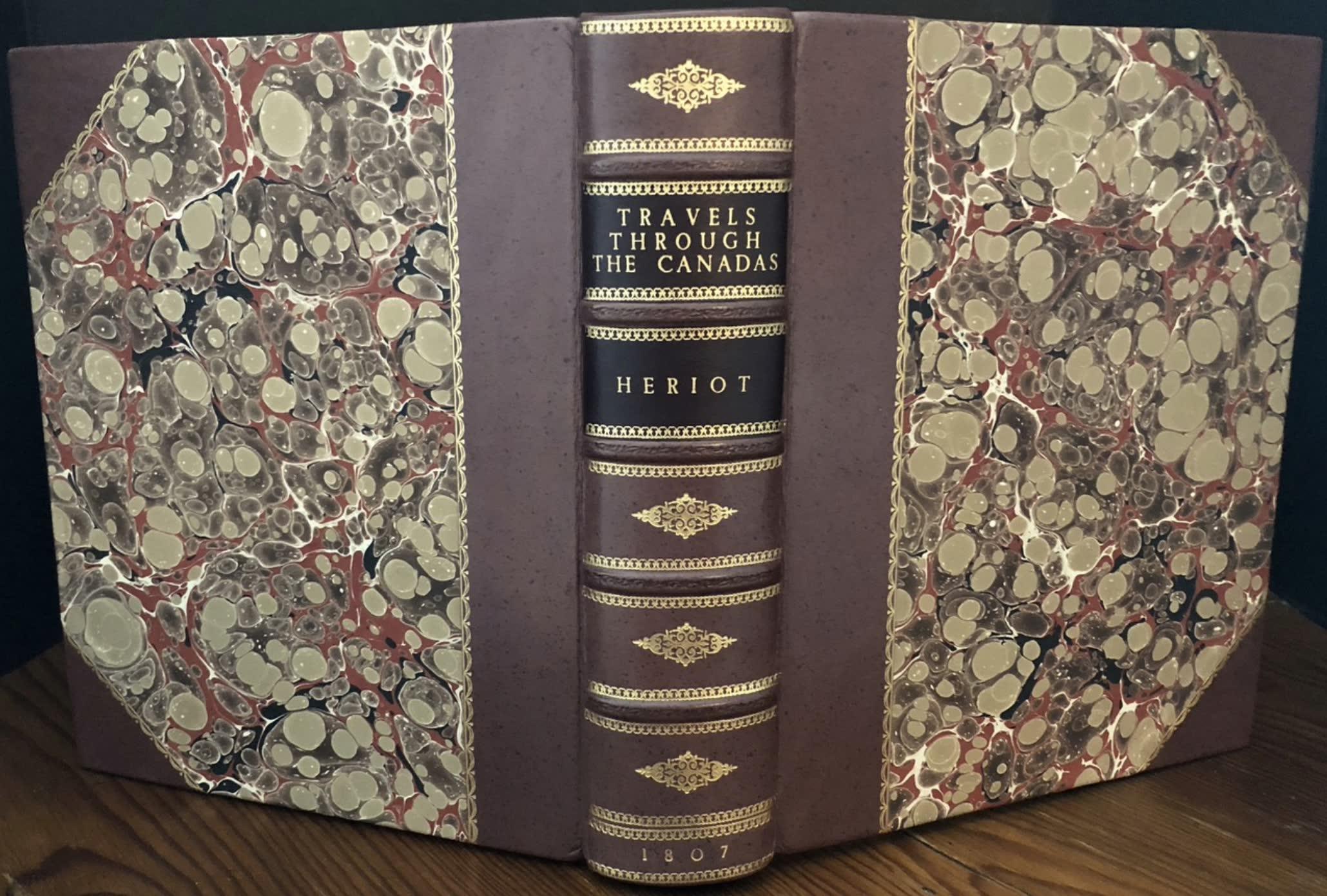 Travels Through the Canadas - Display [II] (1807)