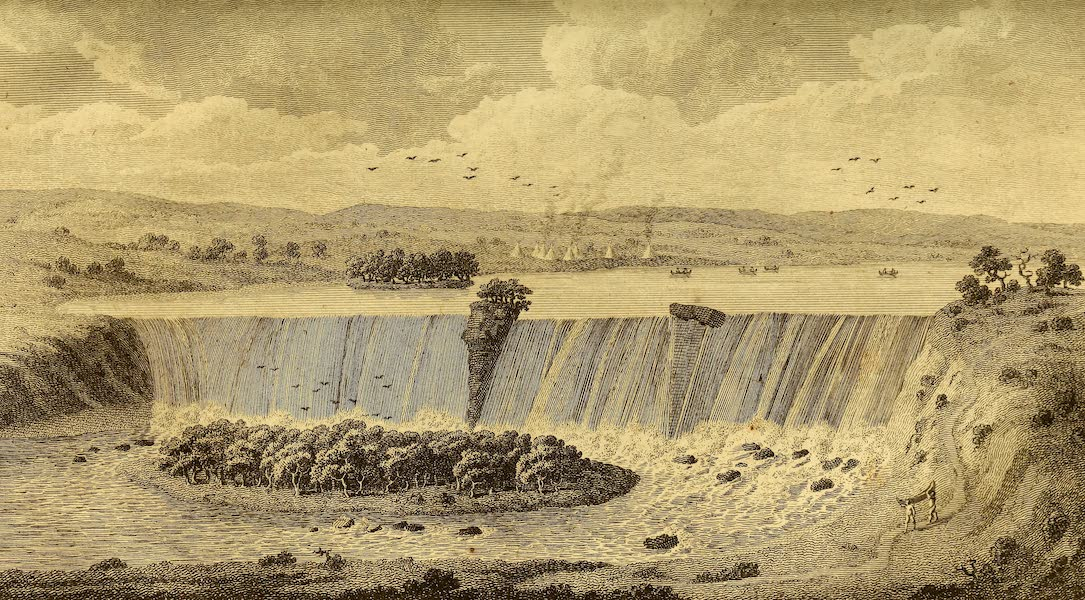 The Falls of St. Anthony in the River Mississippi