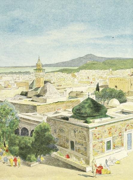 Vue de Tunis, prise de la Kasbah