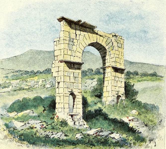Tunis et ses Environs - Arc de triomphe d'Aphrodisium (1892)