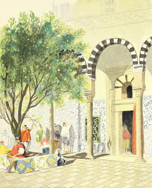 Intérieur de maison israélite, à Tunis