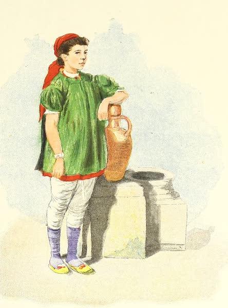 Tunis et ses Environs - Fillette juive (1892)
