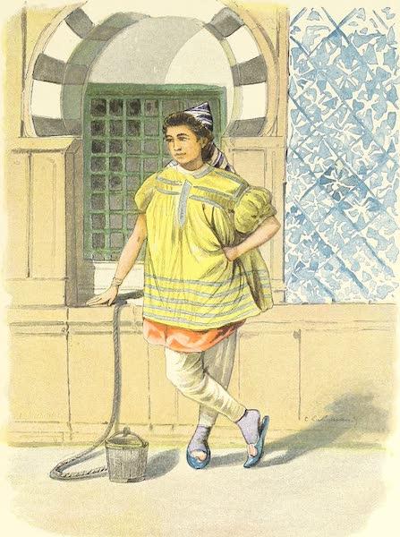Tunis et ses Environs - Jeune fille devant le puits de Batéo (1892)