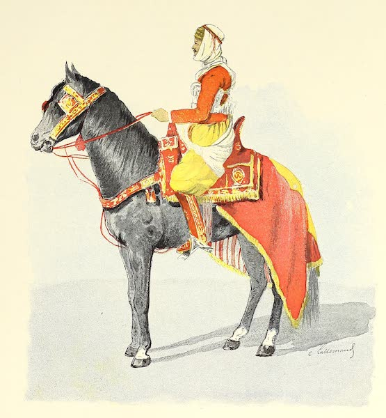 Cavalier en Costume de Fantasia