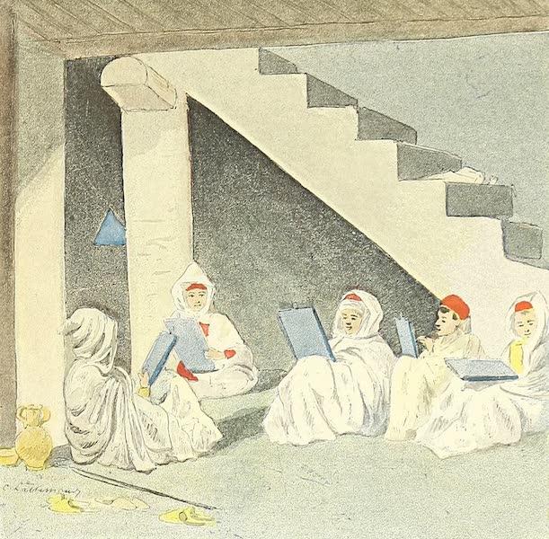 Une petite école coranique en hiver