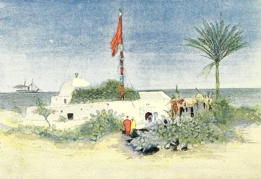 Le Marabout de Sidi-Sala, voisin de la Résidence d'été