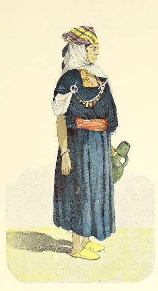 Femme arabe nomade