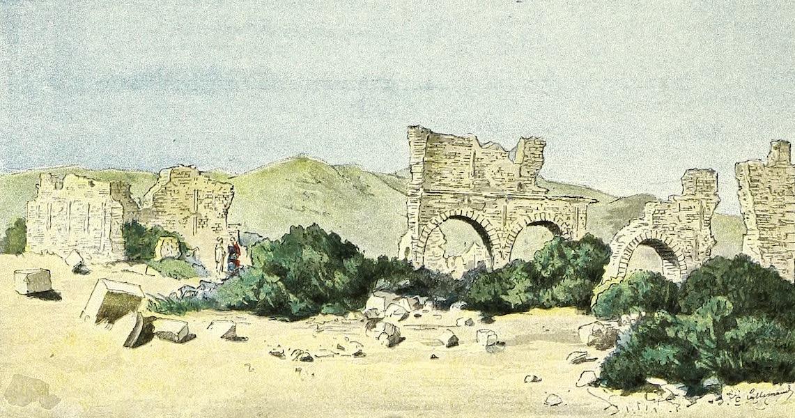 Ruines byzantines au Khangat-Hadjaj