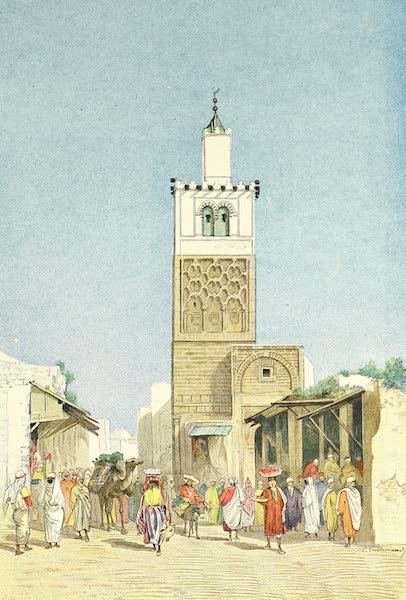 La Mosquée de Bab-al-Djazira et la rue El-Bechir