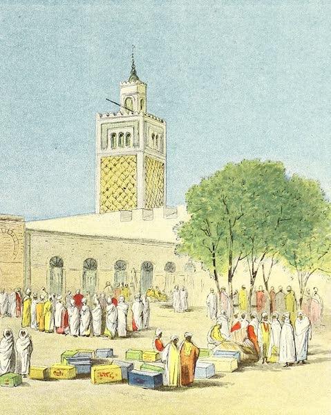 Tunis et ses Environs - La mosquee de Dar-el-Bey (1892)