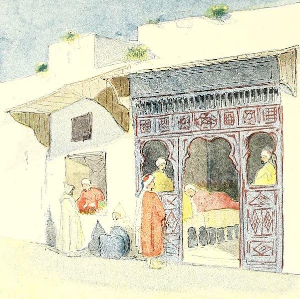 Tunis et ses Environs - Boutique de barbier (1892)