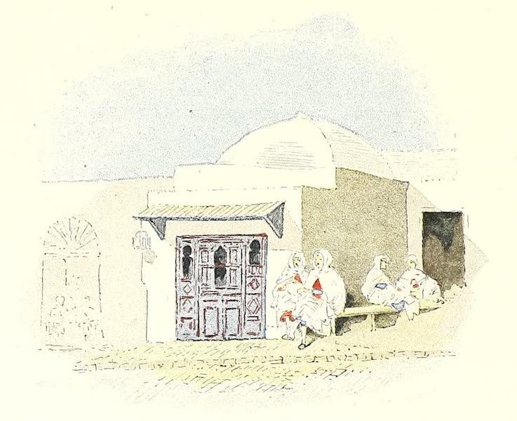 Boutique de barbier, place Rab-el-Maar