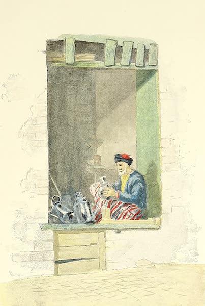 Tunis et ses Environs - Ferblantier de la rue Souk-el-Bélat (1892)
