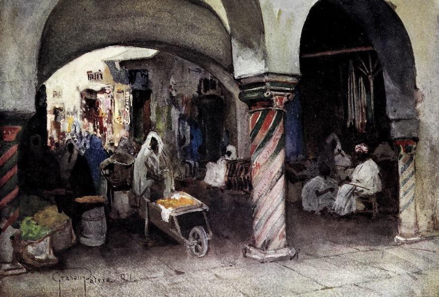Tunis, Kairouan & Carthage - In the Souk-el-Attarin, Tunis (1908)