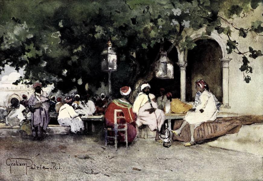 Tunis, Kairouan & Carthage - Cafe du Kasbah,Tunis (1908)