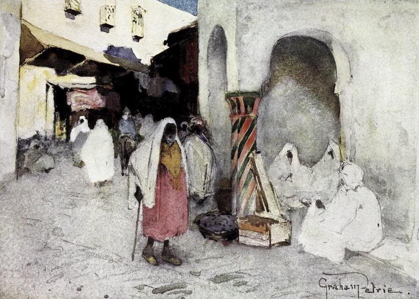 Tunis, Kairouan & Carthage - A Corner in the Rue Belat, Tunis (1908)