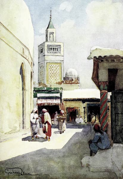 Tunis, Kairouan & Carthage - Rue Sidi-ben-Ziad, Tunis (1908)