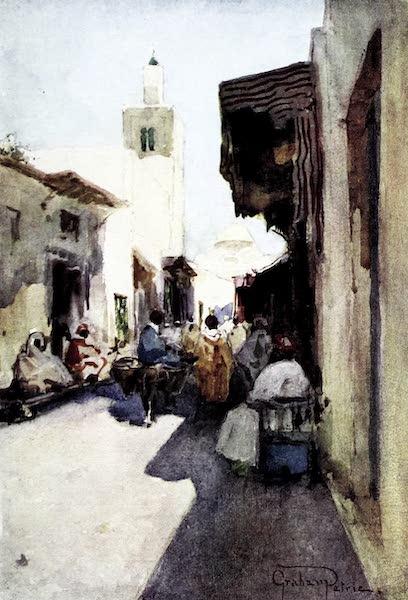 Tunis, Kairouan & Carthage - Rue Haloufaine, Tunis (1908)