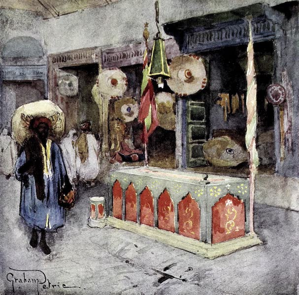 Tunis, Kairouan & Carthage - The Marabout's Tomb in the Souk-des-Selliers, Tunis (1908)