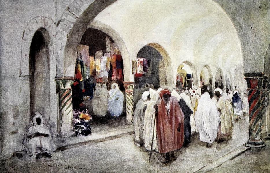 Tunis, Kairouan & Carthage - The Souk-des-Etoffes, Tunis (1908)