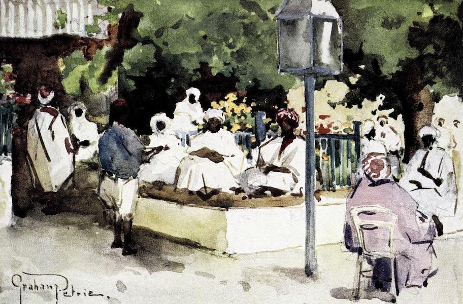 Tunis, Kairouan & Carthage - A Popular Cafe, Tunis (1908)