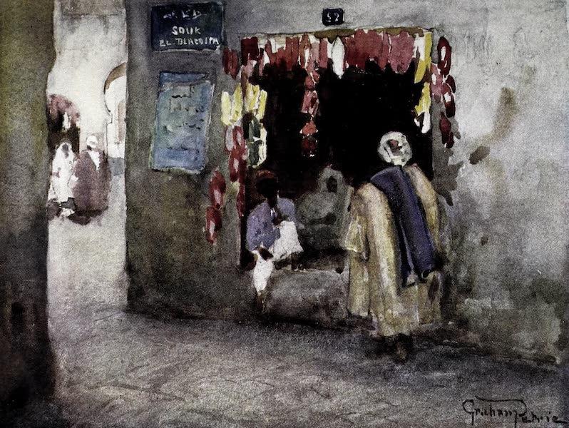Tunis, Kairouan & Carthage - A Slipper-Shop, Tunis (1908)