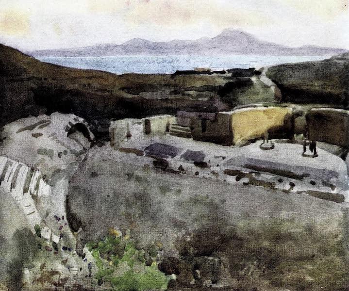 Tunis, Kairouan & Carthage - Ruins of the Roman Theatre, Carthage (1908)