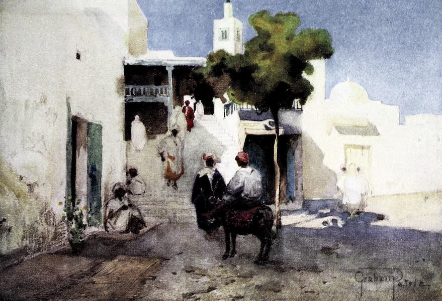 Tunis, Kairouan & Carthage - The Mosque of Sidi-bou-Said, near Carthage (1908)