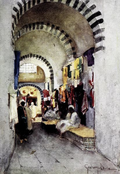 Tunis, Kairouan & Carthage - In the Covered Souks of Kairouan (1908)