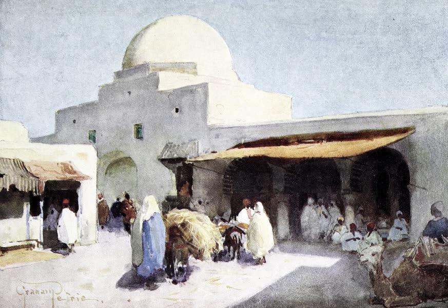 Tunis, Kairouan & Carthage - Exterior of the Corn Market, Kairouan (1908)