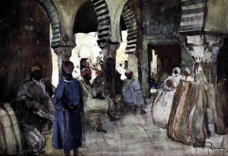 Tunis, Kairouan & Carthage - The Old Corn Market, Kairouan (1908)
