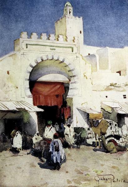 Tunis, Kairouan & Carthage - Entrance to the Souks, Kairouan (1908)