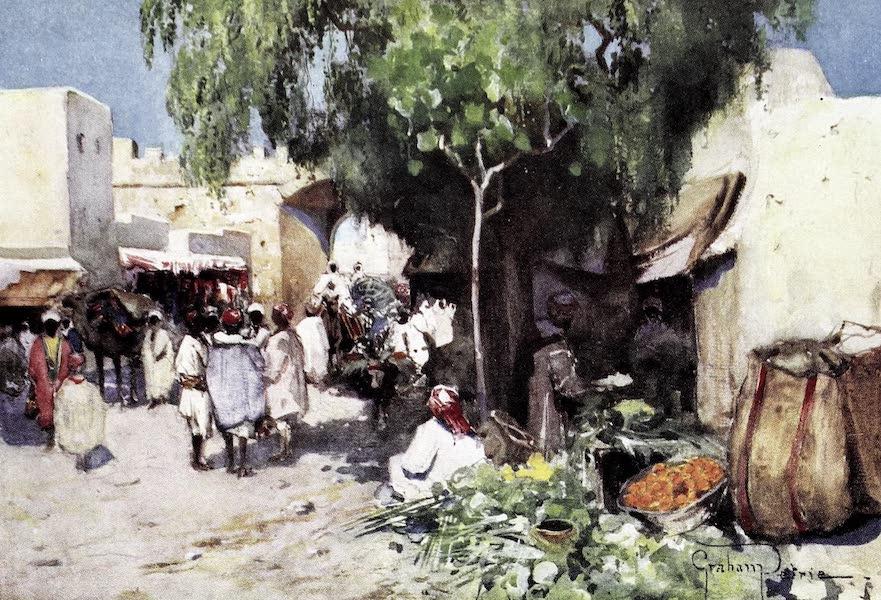 Tunis, Kairouan & Carthage - Life in La Grande Rue, Kairouan (1908)