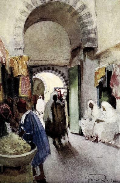 Tunis, Kairouan & Carthage - In the Cool Souks of Kairouan (1908)