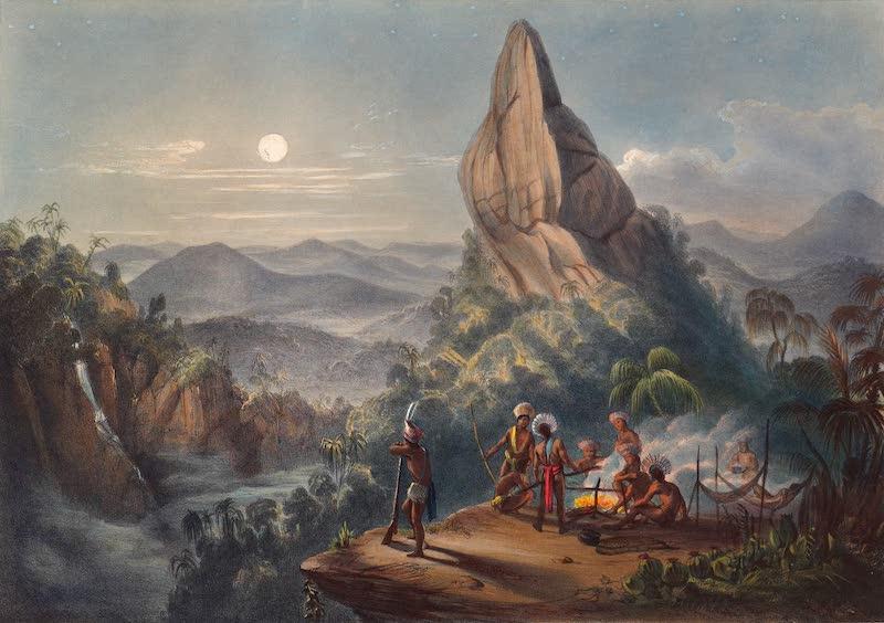 Twelve Views in the Interior of Guiana - Ataraipu, the Devil's Rock (1841)