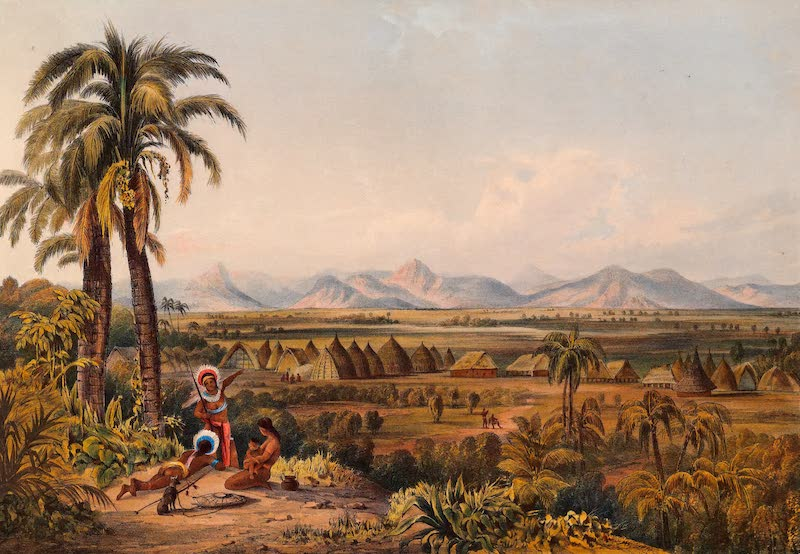 Twelve Views in the Interior of Guiana - Pirara and Lake Amucu, the Site of El Dorado (1841)