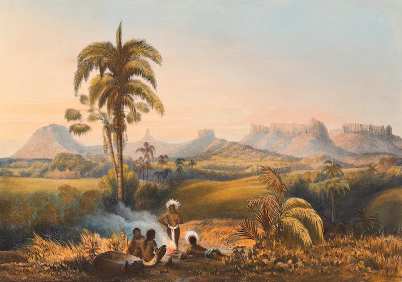 Twelve Views in the Interior of Guiana - Roraima, a Remarkable Range of Sandstone Mountains (1841)