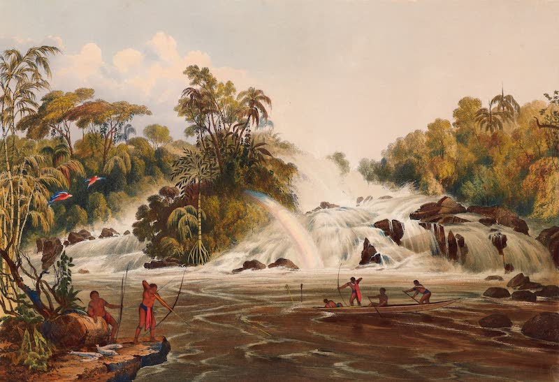Twelve Views in the Interior of Guiana - Junction of the Kundanama with the Paramu (1841)